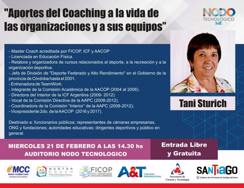Invitacion: Conferencia Aportes del Coaching a la vida de las organizaciones y a sus equipos